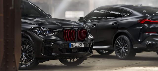 BMW X5 і BMW X6 ОБМЕЖЕНОЇ СЕРІЇ BLACK VERMILION EDITION.